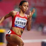 Salwa Eid Naser, championne du monde du 400 m, a été suspendue provisoirement pour manquements à ses obligations de localisation antidopage.