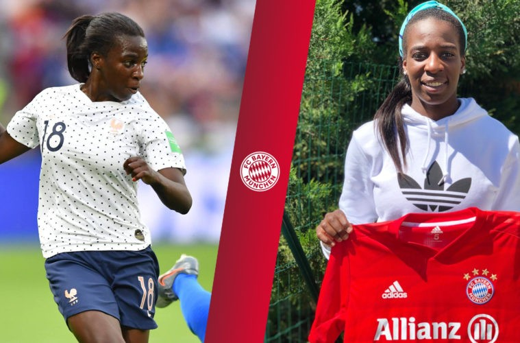 Football : Viviane Asseyi s'engage avec le Bayern Munich