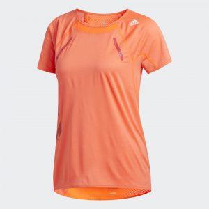 haut de sport orange adidas