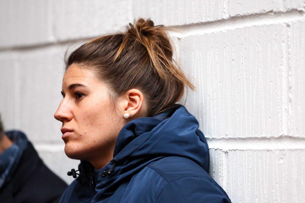 Ergothérapeute à côté du rugby, Gaëlle Hermet a enfilé sa tenue de professionnelle de la santé au printemps pour lutter contre la propagation du Covid-19.