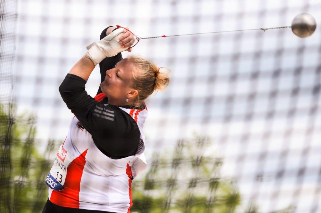 Lancer de marteau : Alexandra Tavernier améliore son record de France !