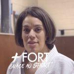 Dans le cadre de son webzine «Le Sport comme École de la Vie», le Crédit Agricole a rencontré Anne-Sophie, qui se sent forte et femme grâce au judo.