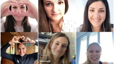 [BEST-OF] Gabriella Papadakis, Mathilde Gros, Élodie Clouvel, Olivia Epoupa… elles sont toutes passées en « live » avec nous sur Instagram !