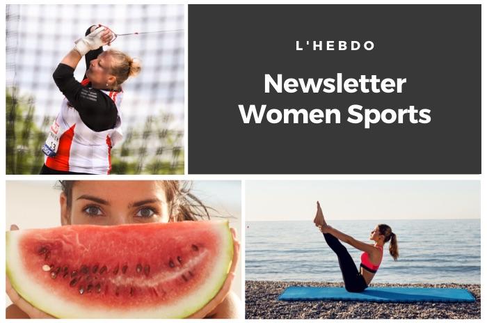 La newsletter WOMEN SPORTS du mardi 14 juillet 2020