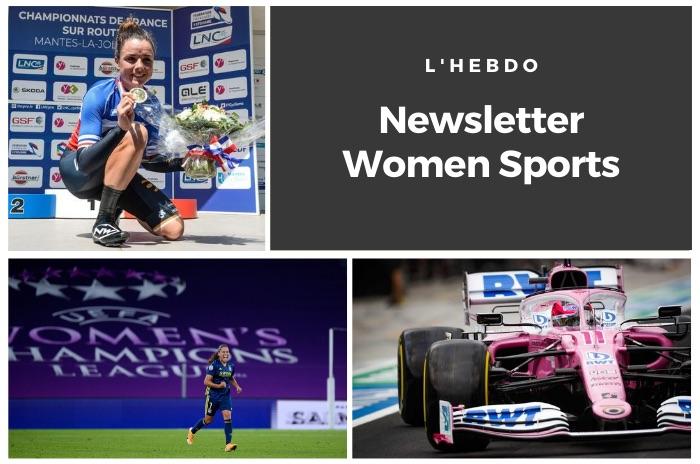 La newsletter WOMEN SPORTS du mardi 25 août 2020