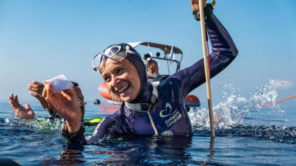 Apnée : Alice Modolo sacrée championne d'Europe