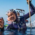 Alice Modolo a été sacrée championne d'Europe d'apnée hier à Kalamata (Grèce), en réalisant 86 m en « Poids constant avec palme ».