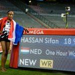 La Néerlandaise Sifan Hassan a battu le record de l'heure féminin vendredi, au meeting de Bruxelles, en courant 18,930 km en 60 minutes.