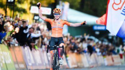 Mondiaux de cyclisme : Anna van der Breggen titrée au contre-la-montre