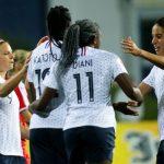 Après avoir remporté leurs deux premiers matchs de qualification à l'Euro 2022, les Françaises ont réalisé la passe de trois en s'imposant ce soir face à la Serbie (2-0).