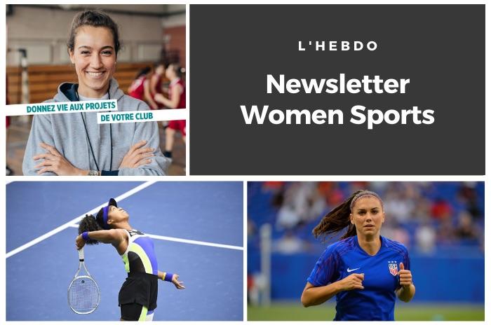 La newsletter WOMEN SPORTS du mardi 15 septembre 2020