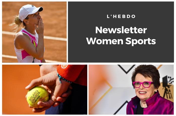 La newsletter WOMEN SPORTS du mardi 22 septembre 2020