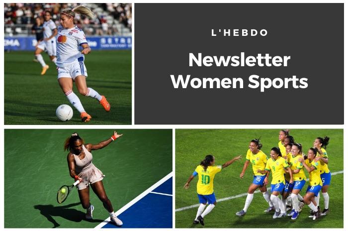 La newsletter WOMEN SPORTS du mardi 8 septembre 2020