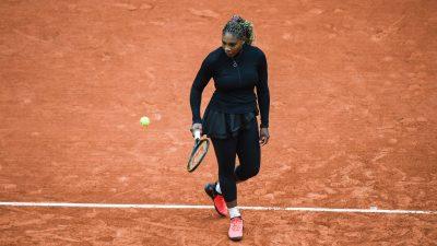 Roland-Garros 2020 : Serena Williams déclare forfait…