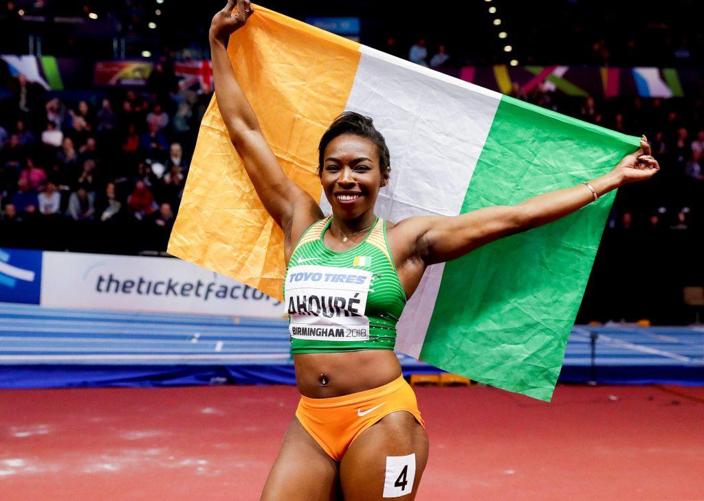 La sprinteuse ivoirienne Murielle Ahouré nommée ambassadrice de l'Unicef