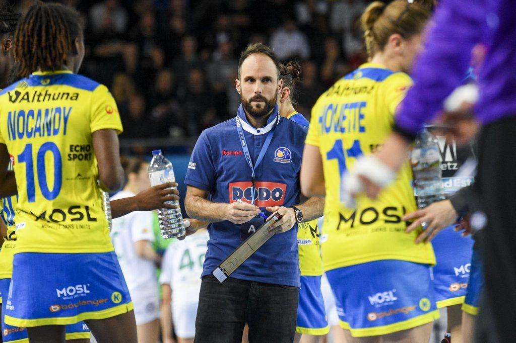 Ligue des champions : les Messinnes battent Ljubljana