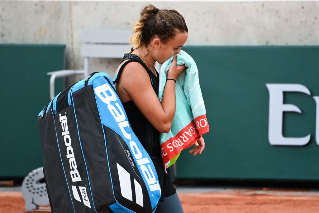 Roland-Garros 2020 : la déception de Clara Burel après son élimination au 3e tour