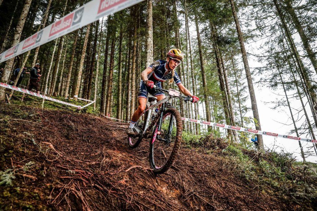 VTT : Pauline Ferrand-Prévot décroche un troisième titre mondial de cross-country !