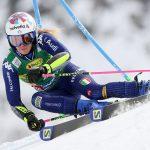 L'Italienne Marta Bassino a remporté samedi le slalom géant de Sölden (Autriche), comptant pour la Coupe du monde de ski alpin 2020-2021.