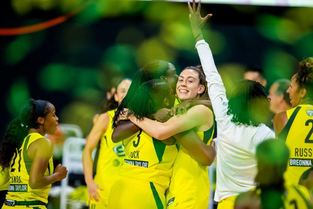 Finale WNBA : les basketteuses du Seattle Storm remportent le titre !