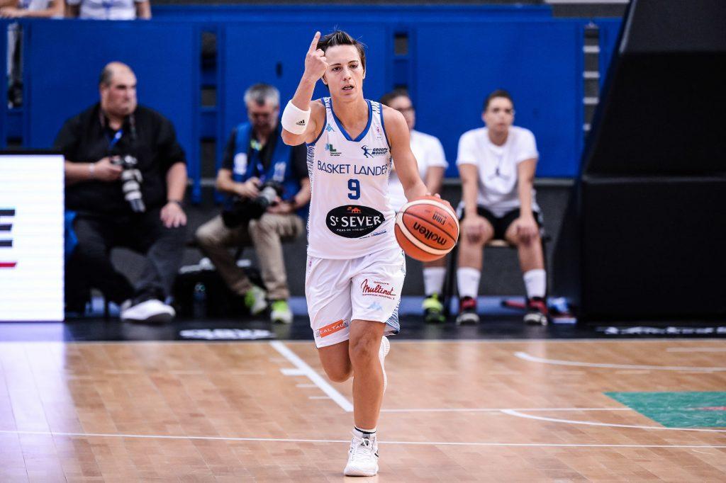 Ligue Féminine de Basketball : Céline Dumerc et le Basket Landes débutent par une victoire