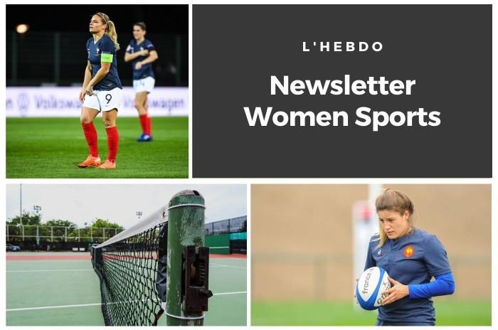 La newsletter WOMEN SPORTS du mardi 27 octobre 2020