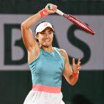 La Française Caroline Garcia s'est qualifiée pour le 3e tour du tournoi de Roland-Garros mercredi soir, à Paris, en battant la Bélarusse Sasnovich.