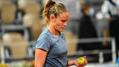 Tennis : Fiona Ferro testée positive au Covid-19