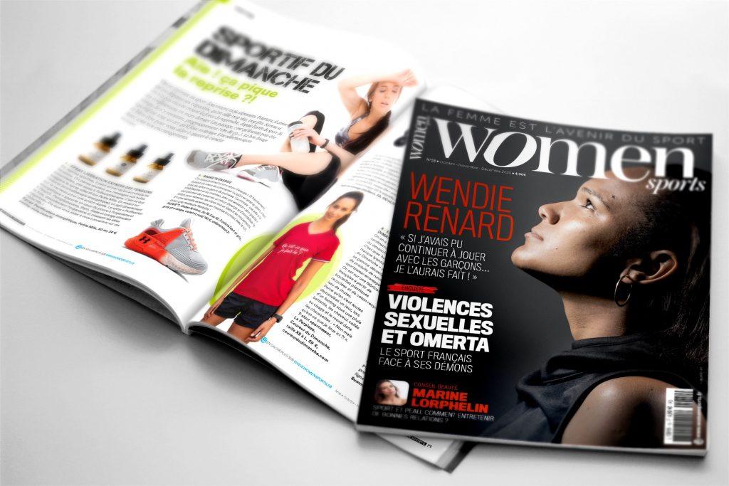 WOMEN SPORTS N°18 : un nouveau numéro est disponible !