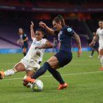 Victoire 1-0 pour les joueuses du Paris Saint-Germain contre l'Olympique Lyonnais.