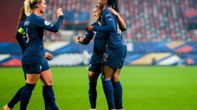 Football (EdF) : les Bleues battent l'Autriche et se qualifient pour l'Euro-2022