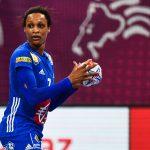 L'emblématique Allison Pineau ne pourra pas disputera l'Euro-2020 de handball après une blessure au nez subie samedi en plein match.