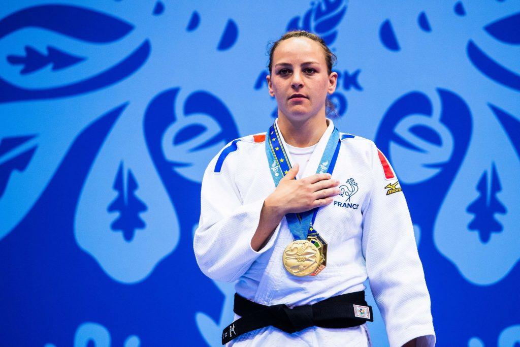 Judo : Margaux Pinot sacrée championne d'Europe, Marie-Eve Gahié en bronze