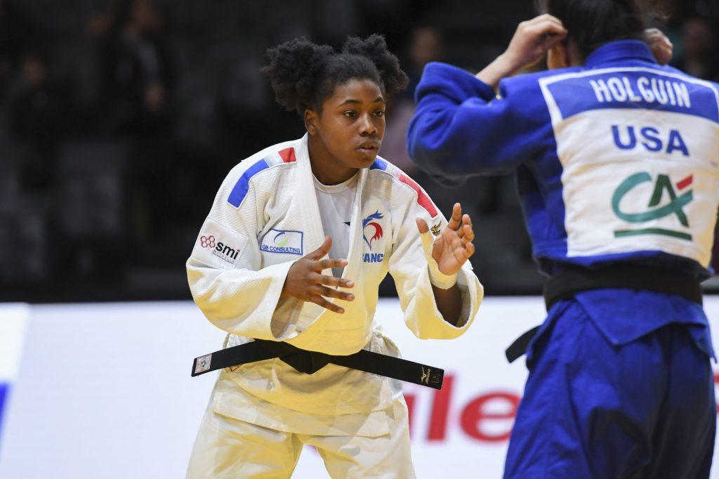 Judo : Sarah-Léonie Cysique en bronze aux Championnats d'Europe