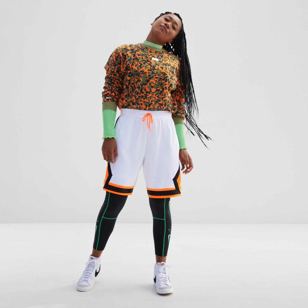 Ambassadrice de Nike depuis un peu plus d'un an, la tenniswoman japonaise Naomi Osaka a désormais sa propre identité visuelle.