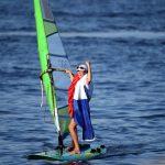 La Française Charline Picon, sacrée championne olympique à Rio en 2016, a décroché la médaille d'or de l'Euro-2020 de planche à voile.