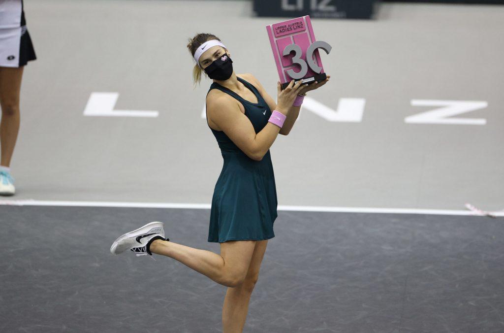WTA Linz : Sabalenka termine en beauté avec un 8e titre !