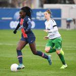 Ligue des Champions (football). Les footballeuses du Paris Saint-Germain (PSG) humilient Gornik Leczna et rejoignent Lyon en 8emes de finale.