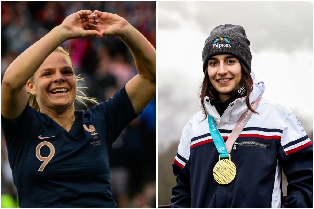 Eugénie Le Sommer et Perrine Laffont désignées sportives de l'année par les Français