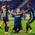 Les footballeuses lyonnaises se sont qualifiées pour les 8emes de finale de la Ligue des Champions, en battant la Juventus de Turin (3-0).