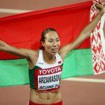 La Bélarusse Marina Arzamasova, championne du monde du 800 m en 2015, a été suspendue quatre ans après un contrôle positif au ligandrol.