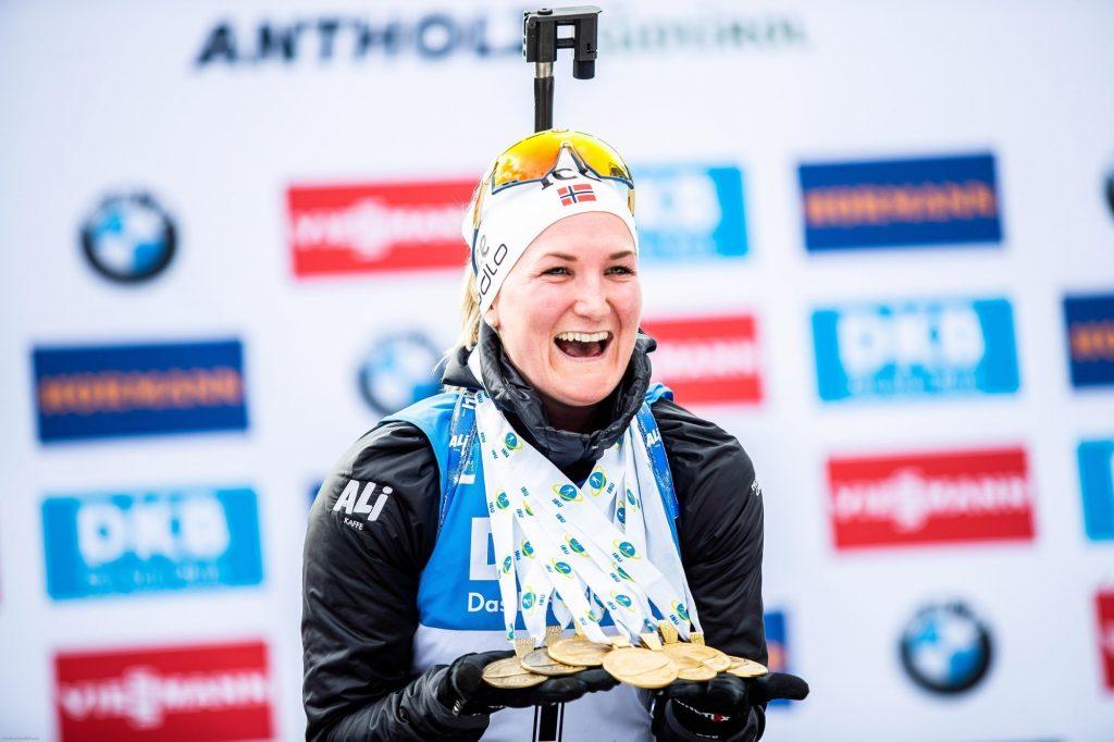 Marte Olsbu Roeiseland élue «Championne des Championnes» 2020 par les journalistes de L'Équipe