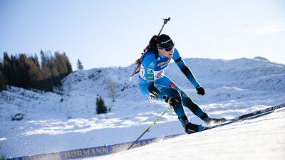 Biathlon – Julia Simon vainqueure sur la mass-start d'Anterselva