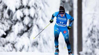 Julia Simon remporte la mass start d'Oberhof