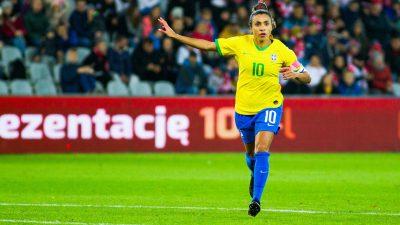 La footballeuse brésilienne Marta va se marier avec l'une de ses coéquipières