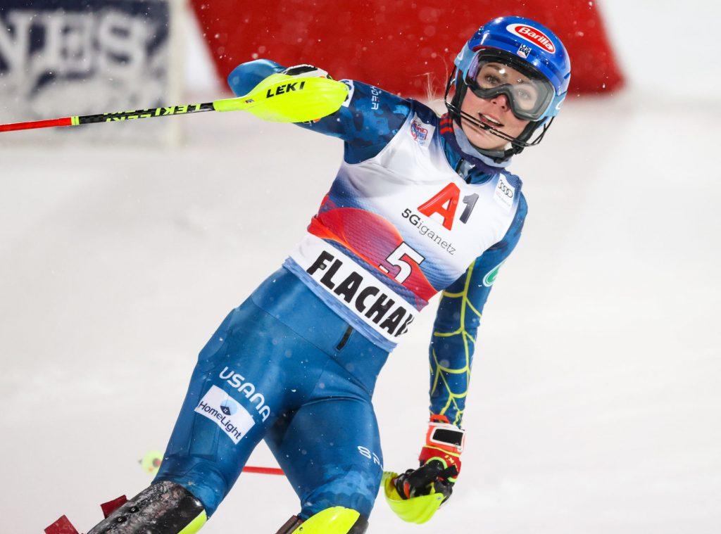 Ski – Mikaela Shiffrin remporte son premier slalom depuis plus  d'un an