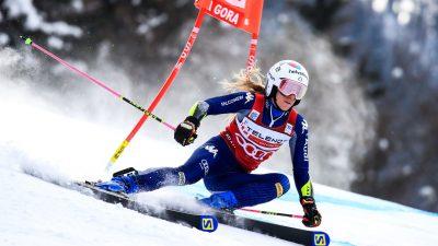 Marta Bassino voit double à Kranjska Gora