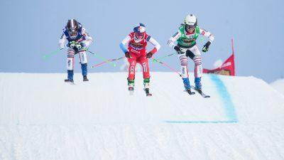 Skicross : doublé français signé Baron et Berger-Sabbatel