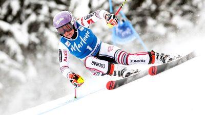 Ski – Tessa Worley remporte le géant de Kronplatz
