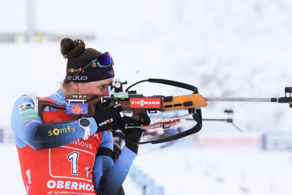 Julia Simon et Emilien Jacquelin remportent le relais mixte simple d'Oberhof